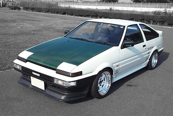 FEATURE: The World Famous Keiichi Tsuchiya AE86 Trueno