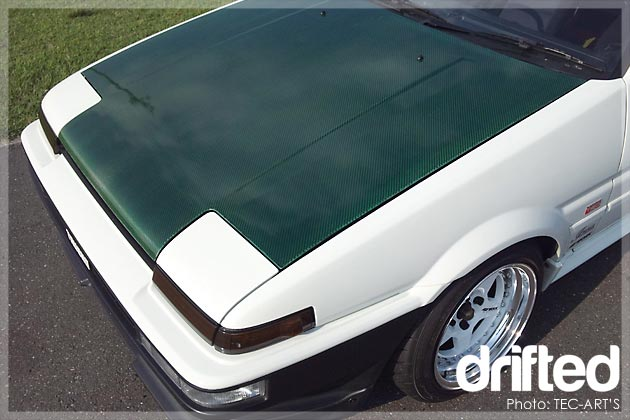 ae86 carbon bonnet