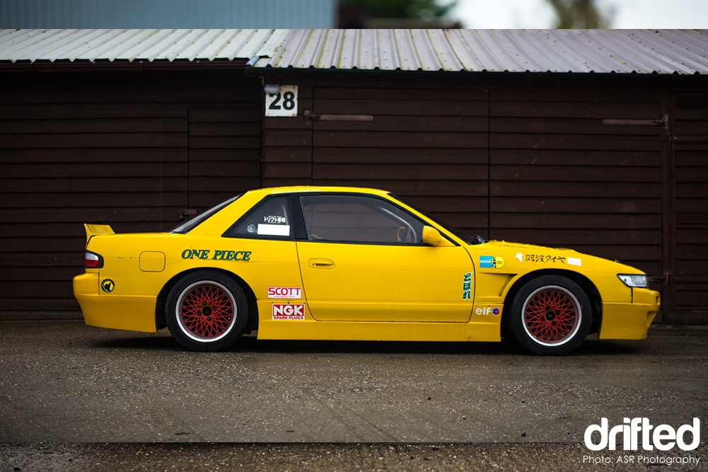 jdm yellow silvia ps13 decals