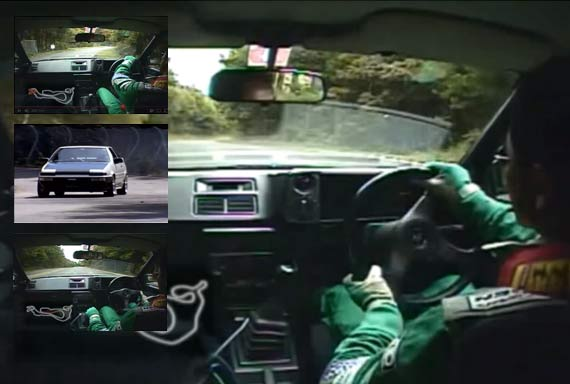 DRIFTING VIDEO: Keiichi Tsuchiya Touge Battle!