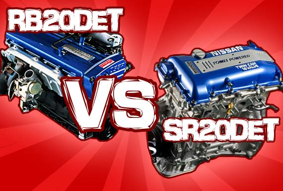 RB20DET Vs SR20DET – Head To Head Battle!