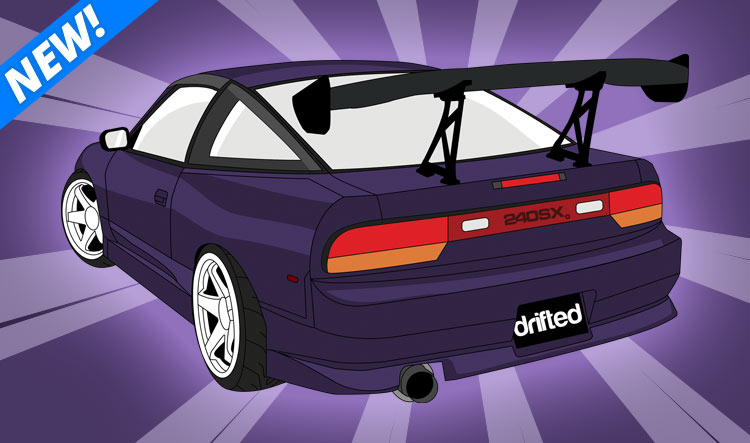240sx hoodie by Drifted