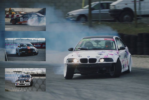DRIFTING VIDEO: Drifting Action at Castelletto Di Branduzzo
