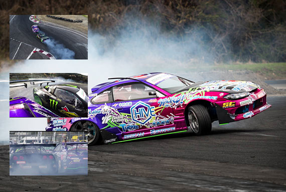 DRIFTING VIDEO: King Of Nations ProSeries Round 3 – Nikko, Japan