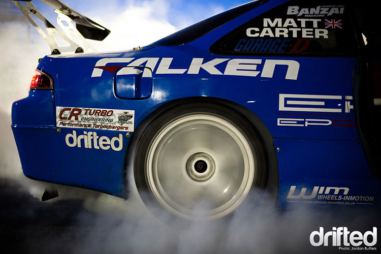 nissan s14 sr20det burnout drifted