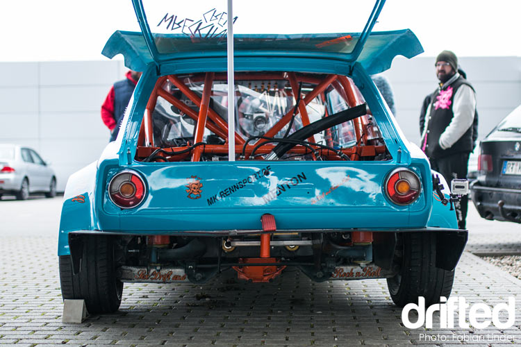 bmw 2002 rear