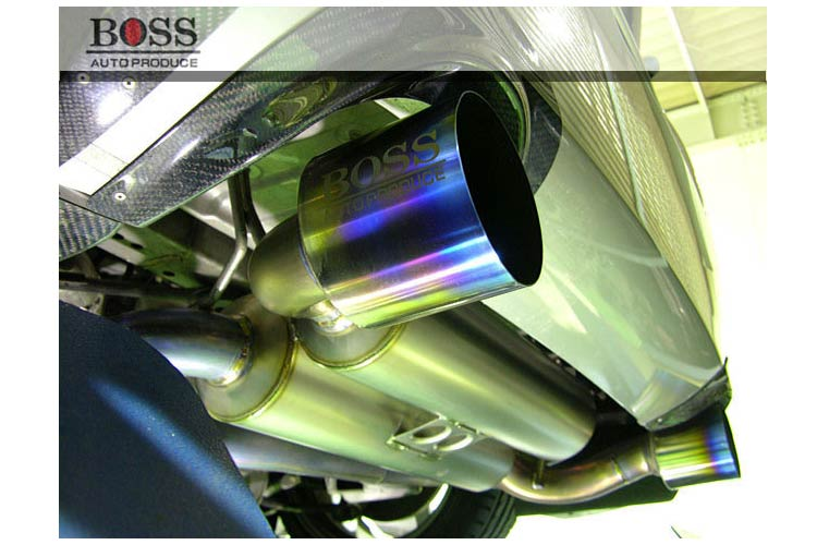 Auto Produce Boss Full Titanium Type 3 350z exhaust