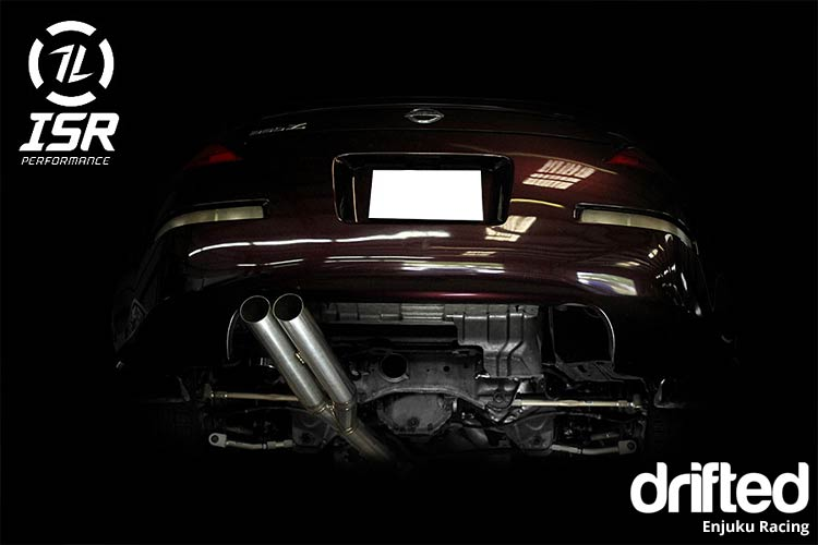 ISR Performance EP dual tip 350z exhaust
