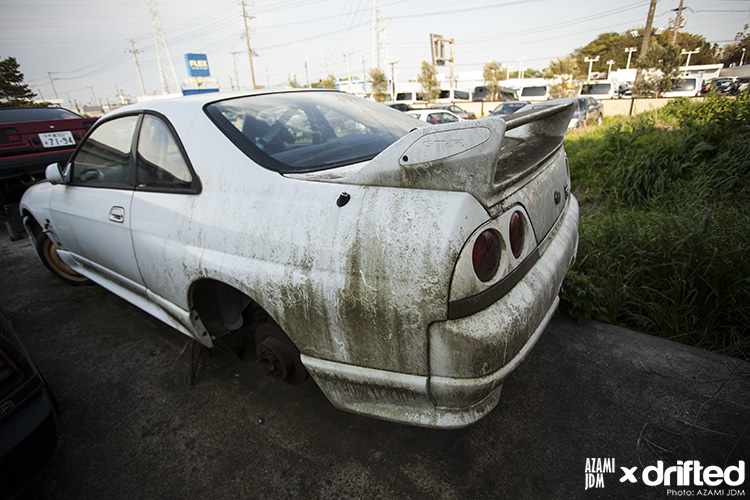 R33 Skyline unloved