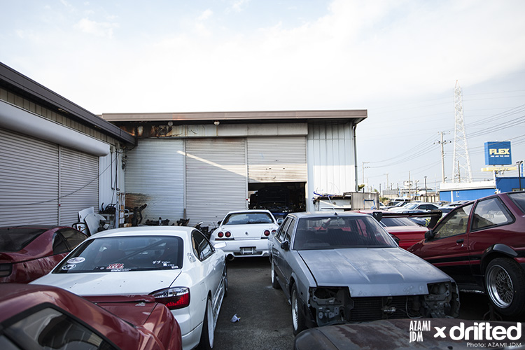 TEPS Racing Service yard