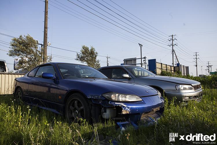 Nissan Silvia S15 blue