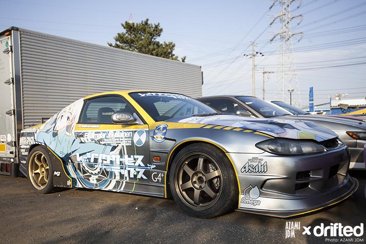 Wild Nissan Silvia S15
