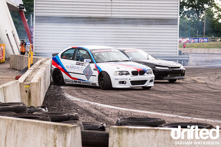 BMW vs S15 twin drift