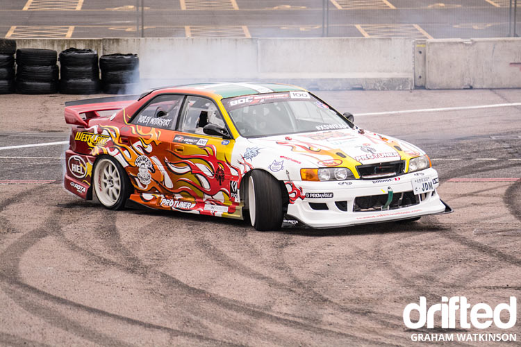 JZX100 Chaser drift