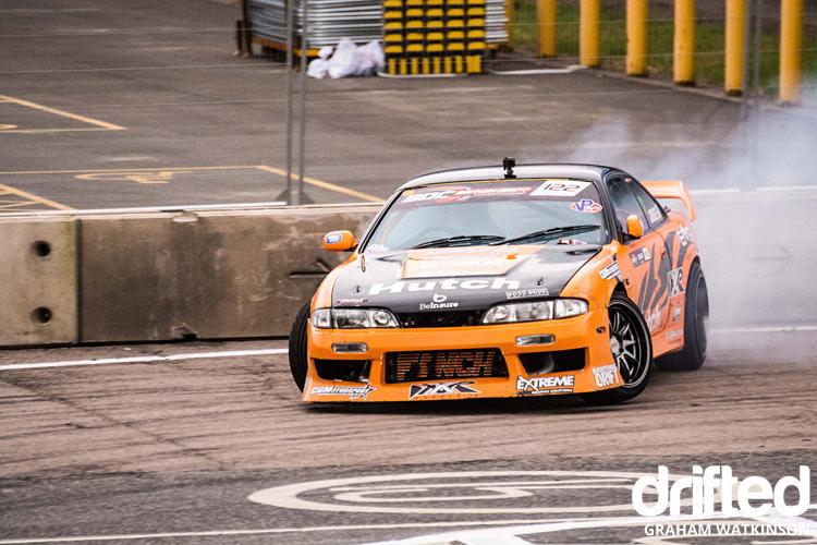Orange silvia s14