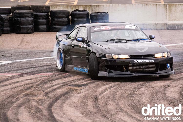 silvia s14 drift