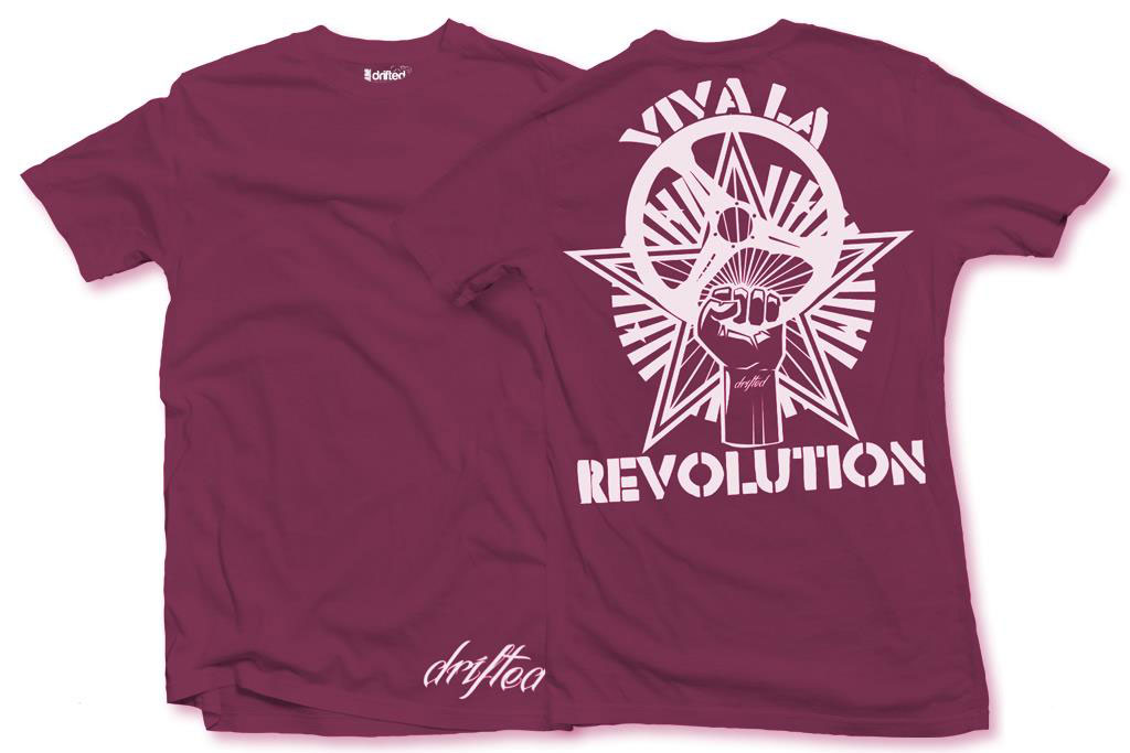drifted revolution t-shirt