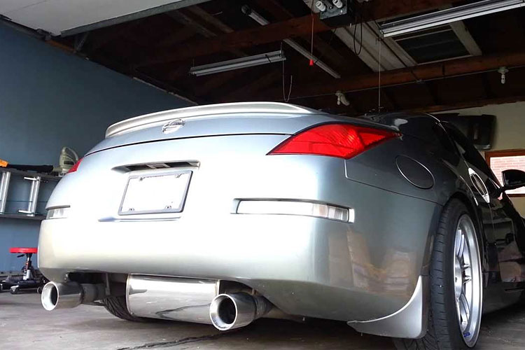 ultimate nissan 350z exhaust guide | drifted