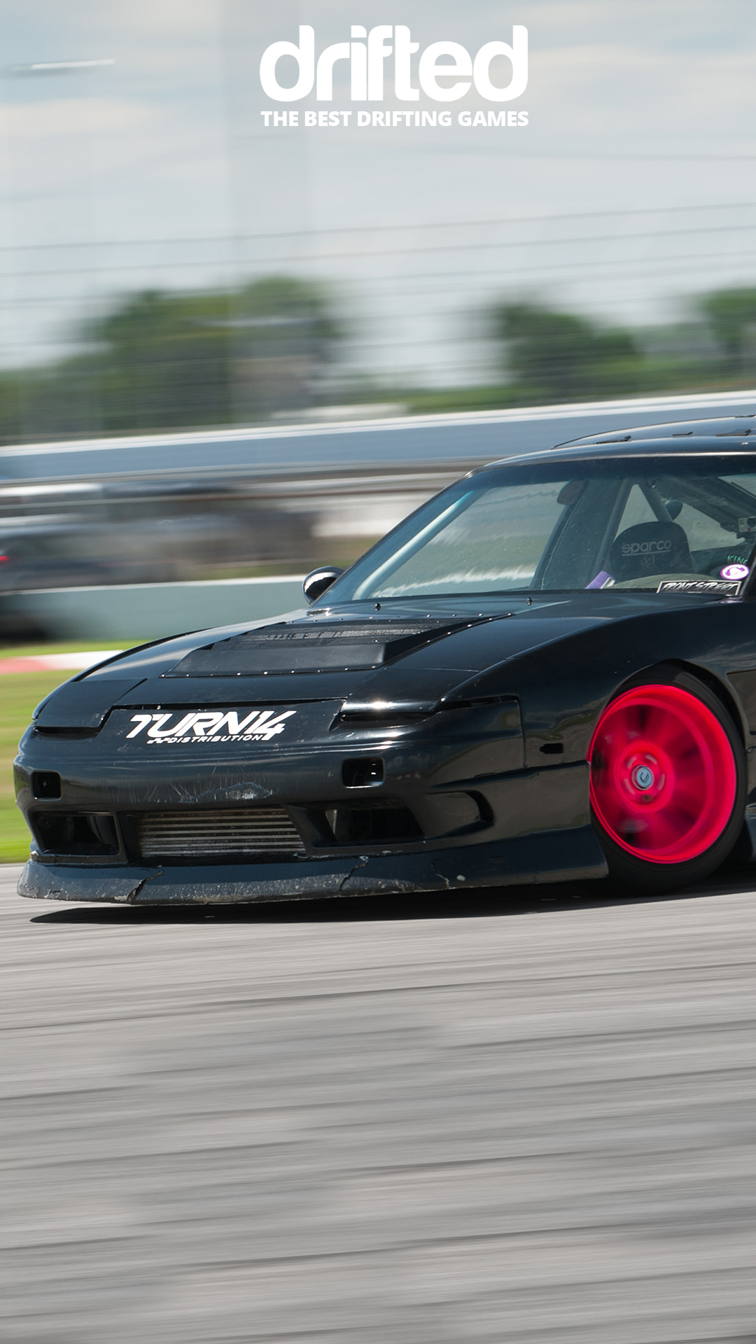 Black 240sx S13 Hatch Wallpaper Drifted Com