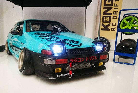 Gary S Inspiring Ae86 Rc Drift Car Drifted Com