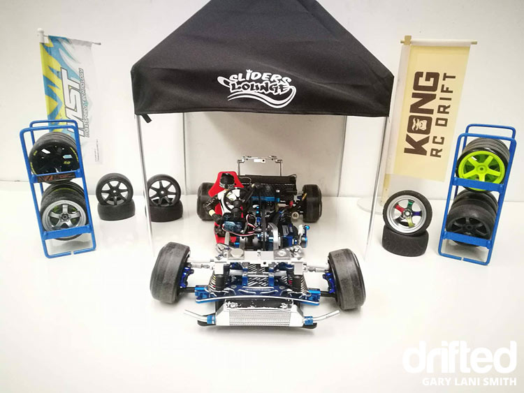 rc drift car ae86 frame