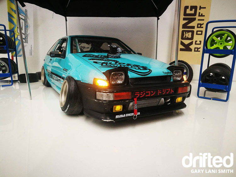 rc drift car ae86 front