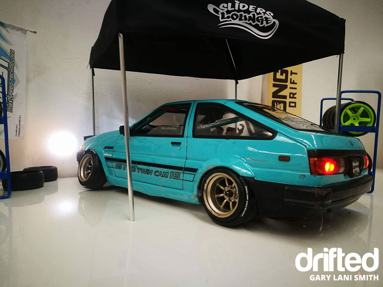 rc drift car ae86 rear