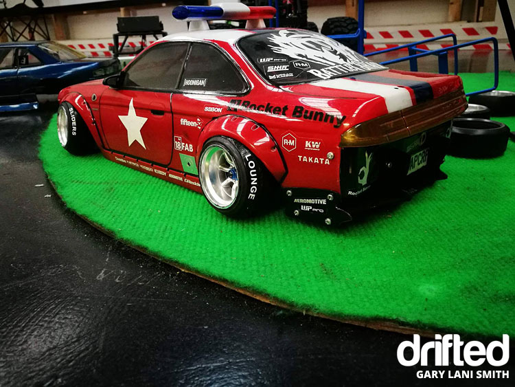 nissan 240sx rc drift car