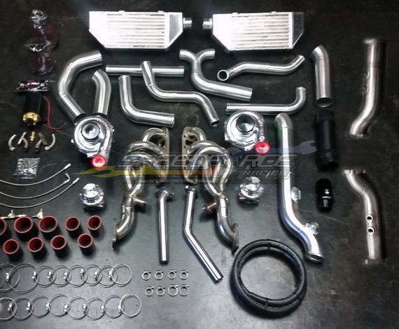 sfr 350z twin turbo 350z turbo kit