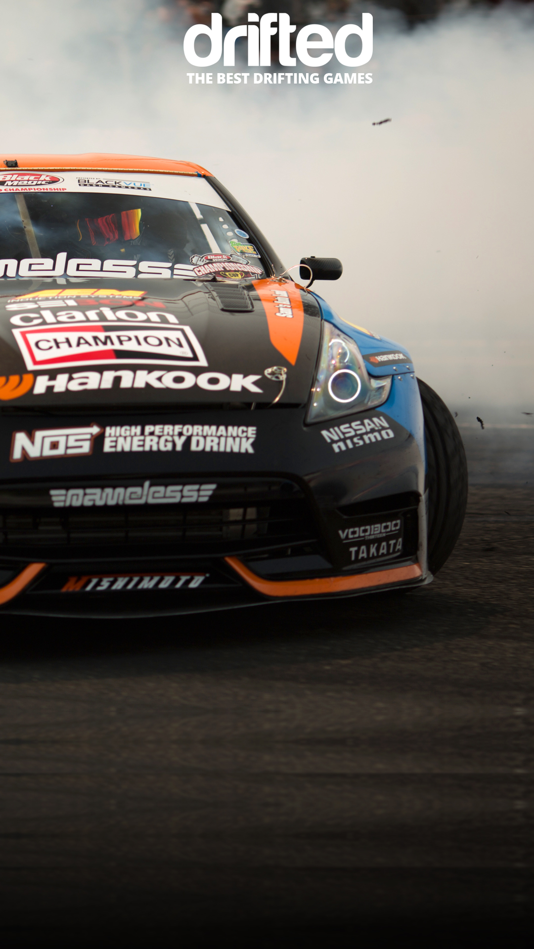 Chris Forsberg 370z Free Wallpaper Drifted Com