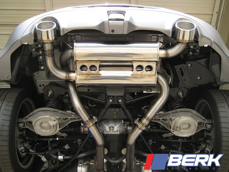 Berk Technology 370Z Exhaust
