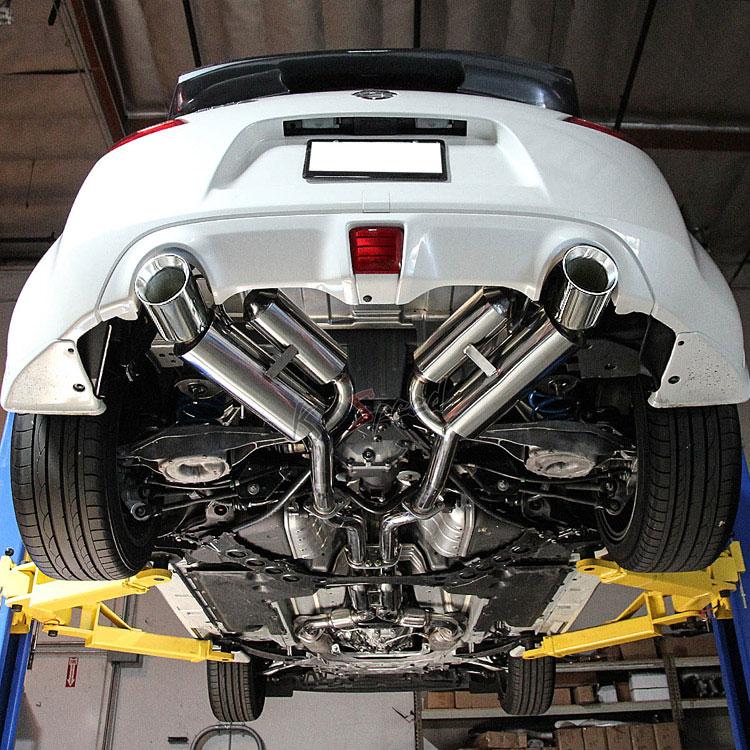 nissan 370z exhaust