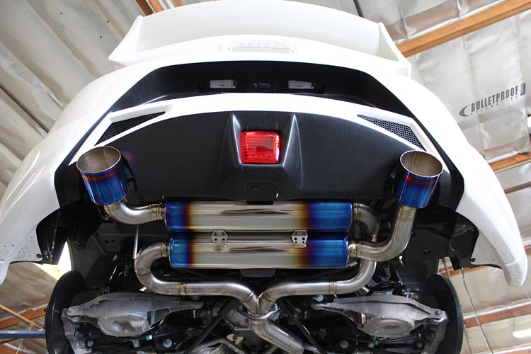 PowerHouse Amuse R1 370Z Exhaust