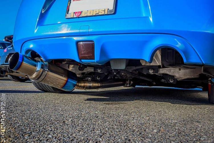 Tomei Expreme Titanium 370Z Exhaust