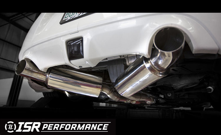 isr performance st series dual 370z exhaust