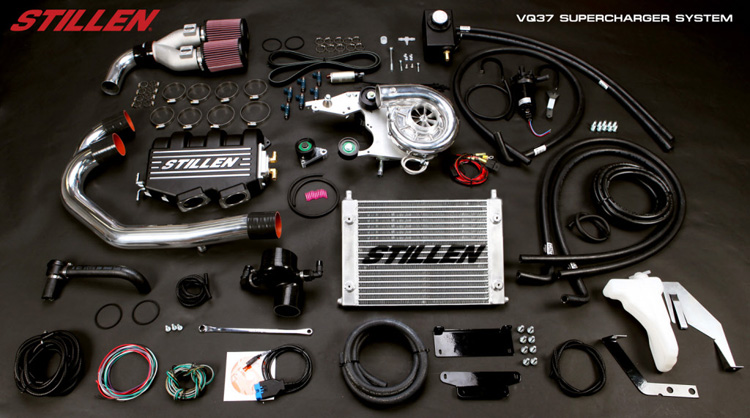 Stillen tuner g37 supercharger kit
