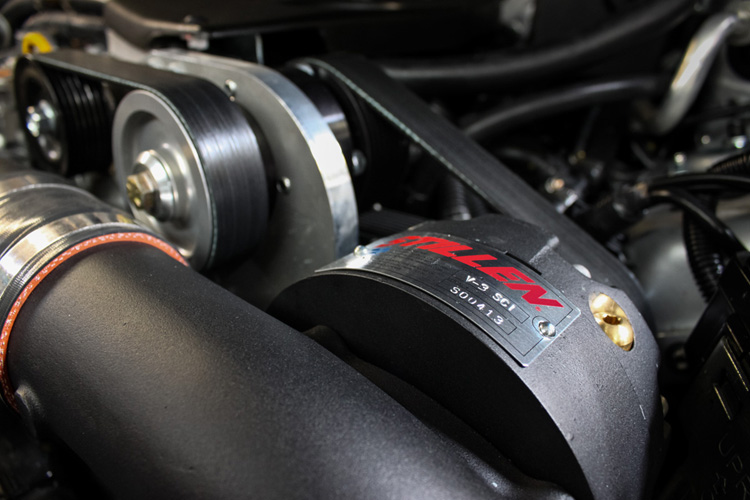 Infiniti G37 Stillen supercharger kit