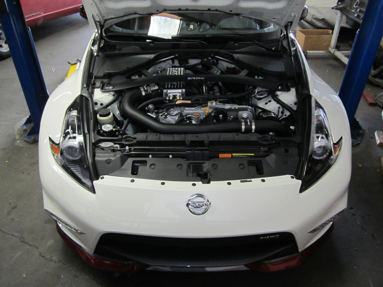 NISMO 370Z Supercharger