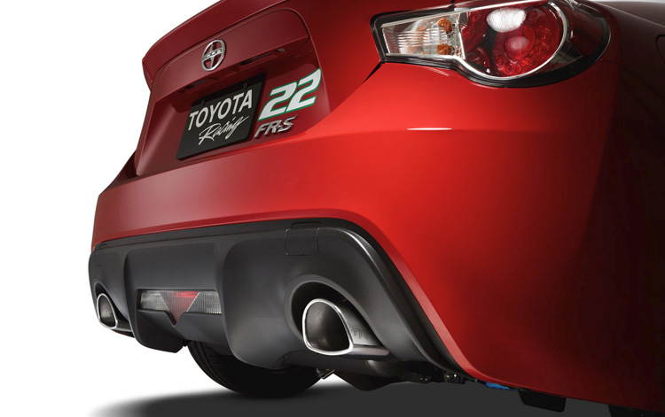 TRD BRZ Exhaust