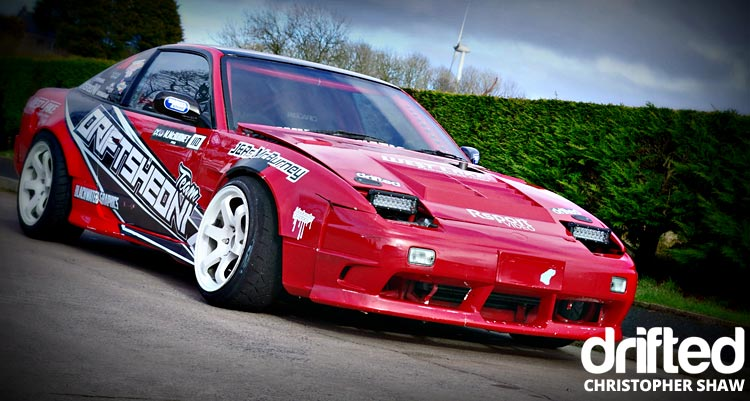 nissan 180sx s13 parked