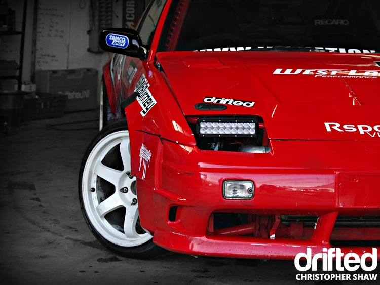 nissan 180sx s13 front wing