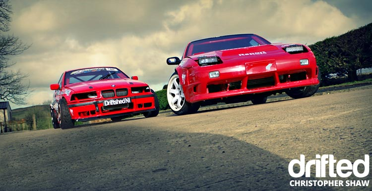 nissan 180sx s13 with bmw