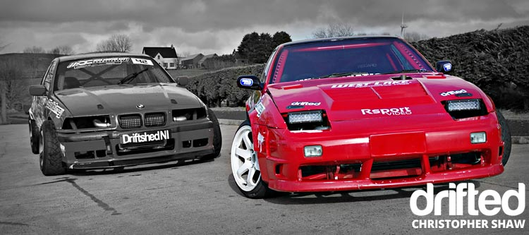 nissan 180sx s13 with bmw mono