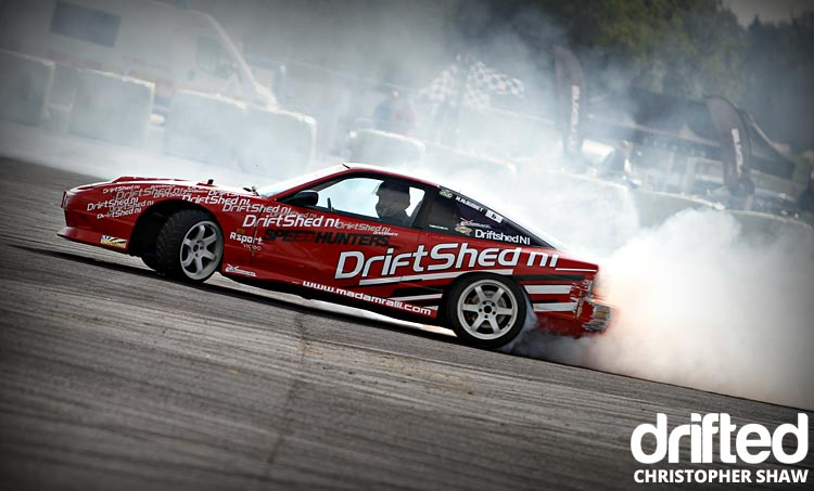 nissan 180sx s13 drifting side