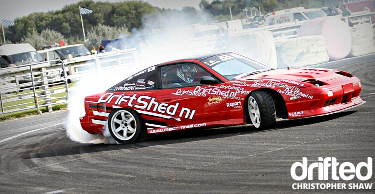 nissan 180sx s13 drifting door
