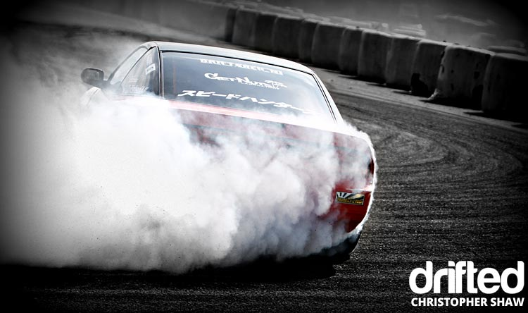nissan 180sx s13 drifting rear close