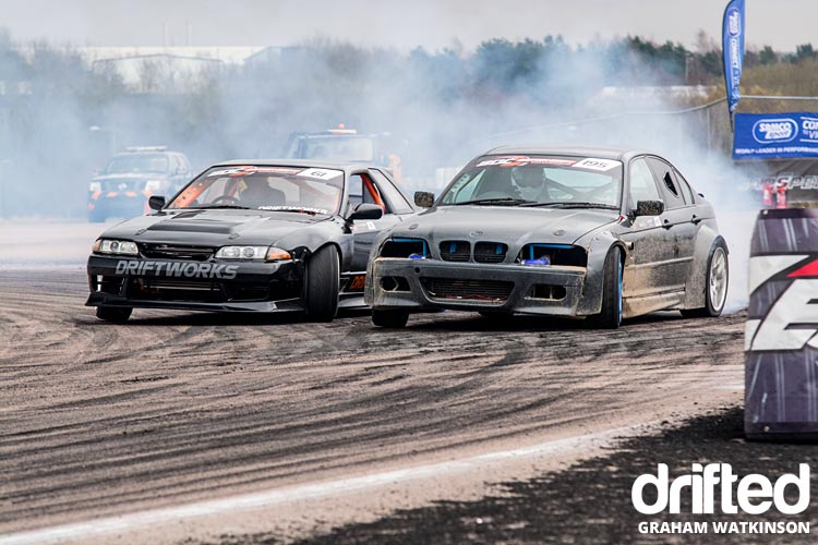 r32-e46-twin-drift