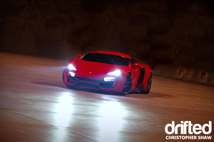 Lykan Hypersport fast and furious live