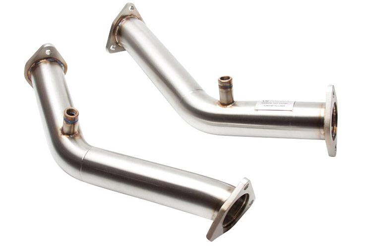 motiv 350z test pipes
