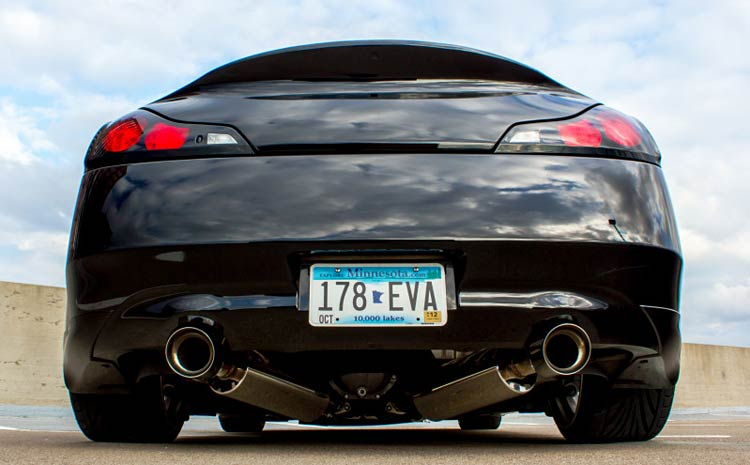 Fast Intentions G37 Exhaust